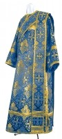 Дьяконское облачение из шёлка Ш2 (синий/золото)