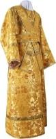 Иподьяконское облачение из парчи ПГ1 (жёлтый/золото)