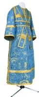 Иподьяконское облачение из парчи ПГ2 (синий/золото)