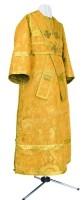 Иподьяконское облачение из парчи ПГ2 (жёлтый-бордо/золото)