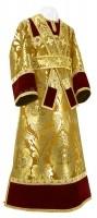 Иподьяконское облачение из парчи ПГ3 (бордовый/золото)