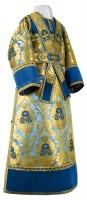 Иподьяконское облачение из парчи ПГ5 (синий/золото)
