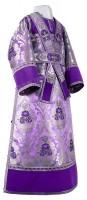 Иподьяконское облачение из парчи ПГ6 (фиолетовый/серебро)