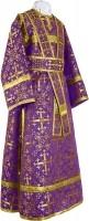 Иподьяконское облачение из шёлка Ш2 (фиолетовый/золото)