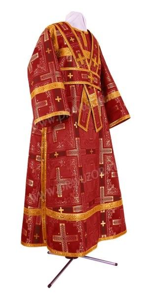 Иподьяконское облачение из шёлка Ш3 (бордовый/золото)