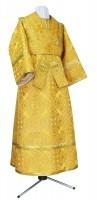 Иподьяконское облачение из шёлка Ш3 (жёлтый/золото)