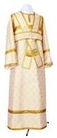 Иподьяконское облачение из шёлка Ш3 (белый/золото)