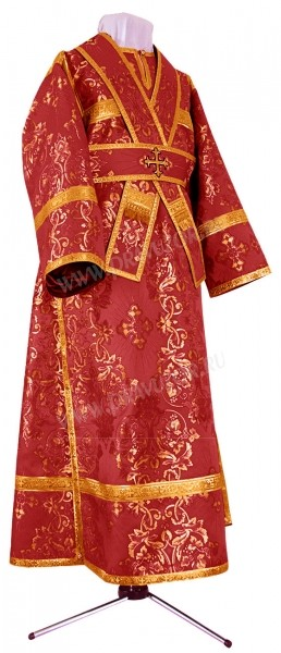 Иподьяконское облачение из шёлка Ш4 (бордовый/золото)