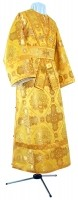 Иподьяконское облачение из шёлка Ш4 (жёлтый/золото)