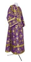 Иподьяконское облачение из шёлка Ш4 (фиолетовый/золото)