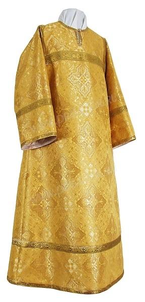 Стихарь алтарника из парчи П (жёлтый/золото)