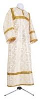 Стихарь алтарника из парчи П (белый/золото)