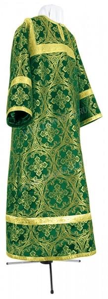Стихарь детский из парчи ПГ1 (зелёный/золото)