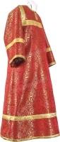 Стихарь детский из шёлка Ш2 (красный/золото)