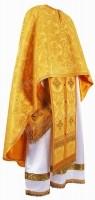 Греческое иерейское облачение из парчи П (жёлтый/золото)