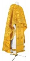Греческое иерейское облачение из шёлка Ш3 (жёлтый/золото)