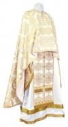 Греческое иерейское облачение из шёлка Ш4 (белый/золото)