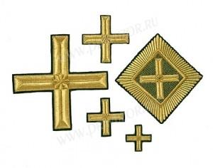 """Вышитые кресты """"Елоховские"""""""