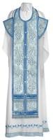 Требный комплект из парчи ПГ3 (синий/серебро)