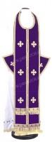 Требный комплект из нем. бархата (фиолетовый/золото)