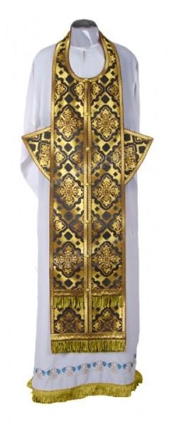 Требный комплект из шёлка Ш2 (чёрный/золото)