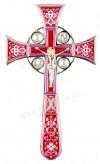 Крест напрестольный №4-1 (малиновый)