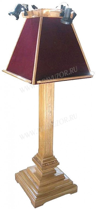 Православный церковный аналой клиросный №2