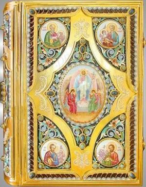 Оклад для Евангелия ювелирный - 8