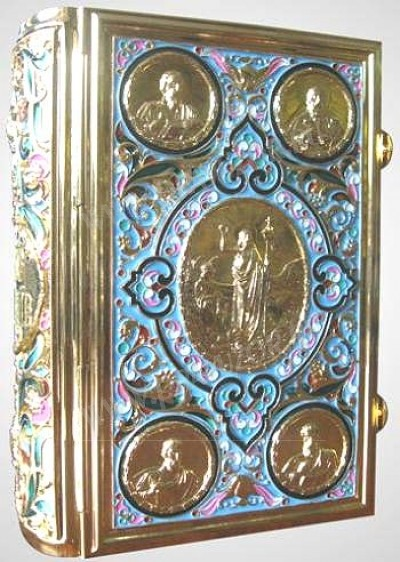Оклад для Евангелия ювелирный №3