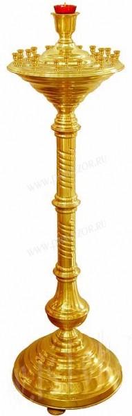 Церковный напольный подсвечник №1 (21 свеча)