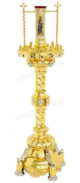 Церковный напольный подсвечник №35 (30 свечей)