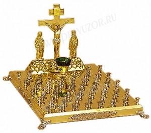 Крышка панихидного стола - 61 свеча