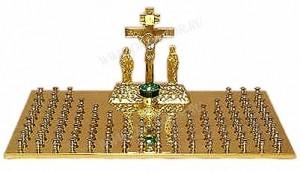 Крышка панихидного стола - 2 (106 свечей)