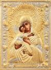 Православная икона: Владимiрский образ Пресвятой Богородицы №234