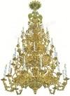 Четырёхъярусное церковное паникадило - 4 (48 свечей)