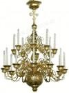 Двухъярусное церковное паникадило - 6 (20 свечей)