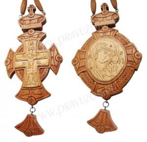 Набор для архиерея (крест и панагия) №3
