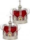 Венцы для венчания №3 (никель)