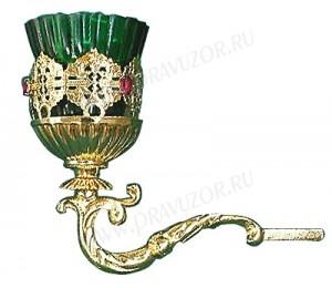Церковная лампада №10 (кронштейн)
