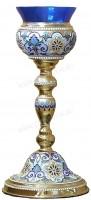 Церковная лампада №2 (эмаль)