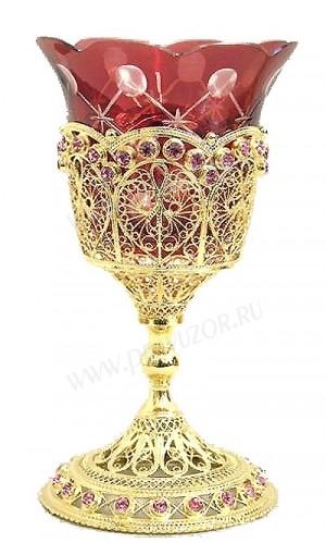 Церковная лампада №2 (филигрань)