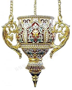 Церковная лампада №7 (филигрань)