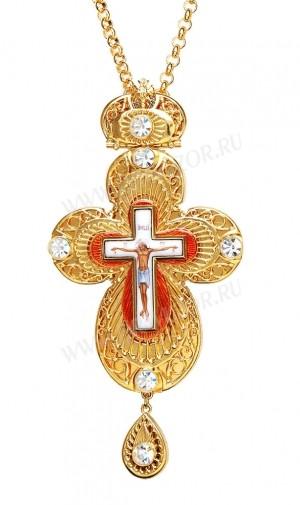 Крест наперсный ювелирный №5