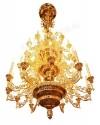Четырехъярусное церковное паникадило - 22 (на 42 свечи)