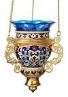 Лампада подвесная ювелирная №33