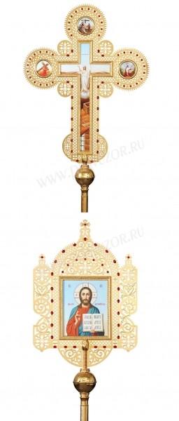 Запрестольные крест-икона №22