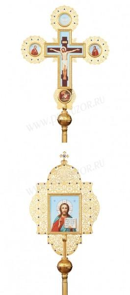 Запрестольные крест-икона №40