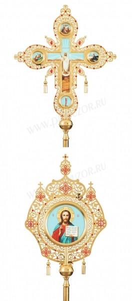 Запрестольные крест-икона №15