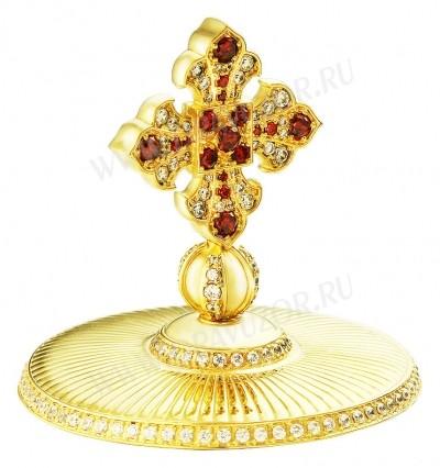 Крест на митру ювелирный - A762 (золочение)