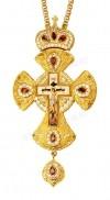 Крест наперсный ювелирный - А217